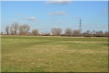 TQ3587 : Playing fields in the Lea Valley by N Chadwick