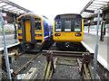 SD5328 : Preston railway station by Thomas Nugent