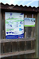 TL9990 : Signs at Hall Farm Horse Rescue Centre by Adrian Cable