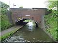SO9086 : Brettell Lane Bridge, from the south by Christine Johnstone