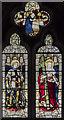 TA0067 : Stained glass window, St Peter's church, Langtoft by Julian P Guffogg