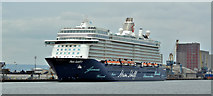 "J3576 : ""Mein Schiff 3"", Belfast (June 2018) by Albert Bridge"