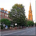 ST2224 : Taunton: Park Street and St John's spire by John Sutton