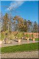 NU1913 : Pavilion patio, The Alnwick Garden by Ian Capper