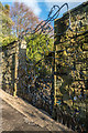 NU1813 : The Singing Gate, The Alnwick Garden by Ian Capper