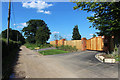 SU8572 : New Fence along the Lane by Des Blenkinsopp