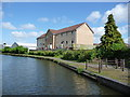 SO9691 : Canalside housing at Damson Wharf by Christine Johnstone