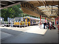 SD4761 : Bay platforms at Lancaster by Stephen Craven