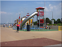 SD4364 : Playpark, Marine Road East, Morecambe  by Stephen Craven