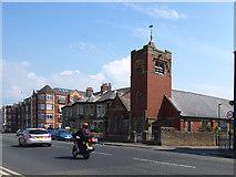 SD4464 : Emmanuel church, Rossendale Avenue, Morecambe by Stephen Craven