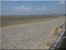 SD4464 : Shingle beach, north-east of Morecambe by Stephen Craven