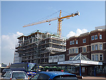 SD4464 : New development on the Broadway site by Stephen Craven