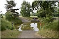 SJ8061 : Water obstacle on the cross-country course at Smallwood by Jonathan Hutchins