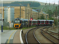 SD9851 : Train arriving in Skipton by Stephen Craven