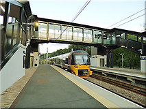 SE2436 : Evening train at Kirkstall Forge by Stephen Craven