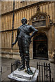 SP5106 : William Herbert statue at Bodleian Library, Oxford by Brian Deegan