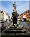 SO5112 : East side of Monmouth War Memorial by Jaggery