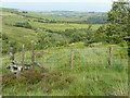 SE0413 : Obstructed stile in fence across access land by Humphrey Bolton