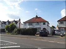 SP1955 : Houses on Alcester Road, Stratford on Avon by David Howard