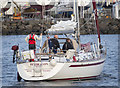 J5082 : Yacht 'Pendragon of Tyne' at Bangor by Rossographer
