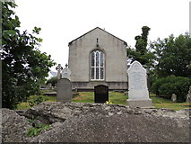 C5349 : St Buadan's Church of Ireland, Culdaff (side) by Kenneth  Allen