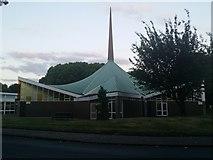TQ1672 : St Richard's Church, Ham by David Howard
