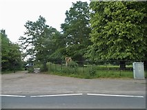 SP0860 : Park by Birmingham Road, Coughton by David Howard