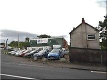 SO9672 : Junction 1 car sales, Bromsgrove by David Howard