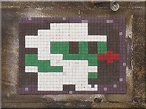 NZ2563 : Ceramic tile public artwork, Side, NE1 by Mike Quinn