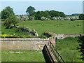 TL4968 : Field boundaries at Denny Abbey by Christine Johnstone
