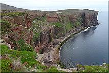 HY1700 : Cliffs of Hoy by Anne Burgess