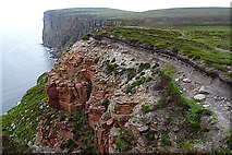 HY1700 : Crumbling Cliffs by Anne Burgess