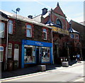 ST1599 : Tenovus cancer charity shop, Hanbury Road, Bargoed by Jaggery