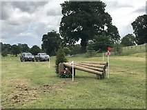 SK2014 : Cross-country fence at Catton Park by Jonathan Hutchins