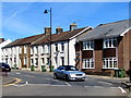 ST1587 : Ton-y-felin Road houses, Caerphilly by Jaggery