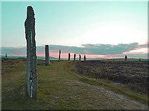 HY2913 : Ring of Brodgar by Anne Burgess