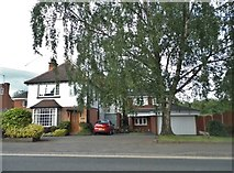 SO9672 : Houses on the A38, Bromsgrove by David Howard