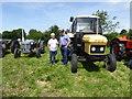 H5361 : Ferguson and Leyland tractors, Kilnaheery by Kenneth  Allen