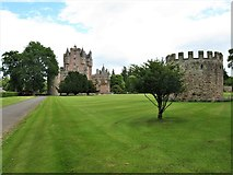NO3847 : West Tower, Glamis Castle by G Laird