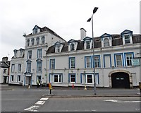 SD5193 : County Hotel, Kendal by Roger Cornfoot