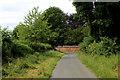 SE4469 : Raghill Lane approaching a Brick Wall by Chris Heaton