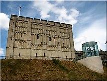 TG2308 : Norwich Castle by Evelyn Simak