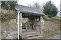 SX5467 : Lych gate, Church of St Peter by N Chadwick