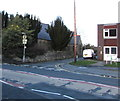 SJ3057 : Junction of High Street and Fellows Lane, Caergwrle, Flintshire by Jaggery