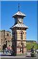 NZ3769 : Clock tower, Tynemouth by Julian Osley