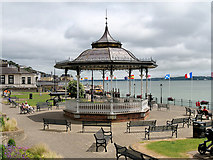 W7966 : Cobh Bandstand, Kennedy Park by David Dixon