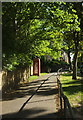 SE2955 : Telephone box, Valley Drive, Harrogate by Derek Harper