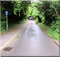 ST1795 : One-way part of Gelli Lane, Pontllanfraith by Jaggery