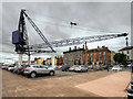 S6012 : Crane at Meagher's Quay Car Park, Waterford by David Dixon