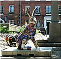 TG2308 : GoGoHares - Lewis the Timely Hare by Evelyn Simak